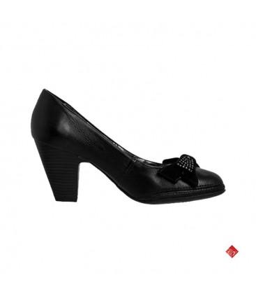 Sapato Scarpin Salto Baixo Laço Bottero 185802